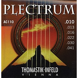 Thomastik AC110 Plectrum Bronze Extra Light Acoustic Guitar Strings (AC110)