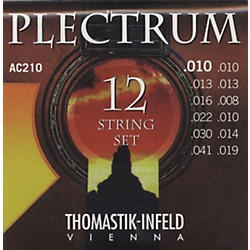 Thomastik AC210 Plectrum Bronze Extra Light Acoustic 12-String Guitar Strings (AC210)