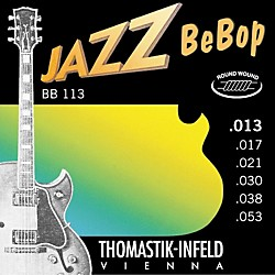 Thomastik BB113 Medium Light Jazz BeBop Guitar Strings (BB113)