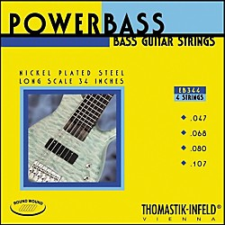 Thomastik EB344 Medium-Light Power Bass Roundwound 4-String Bass Strings (EB344)