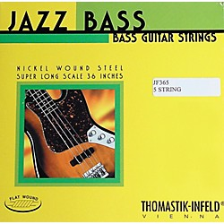 Thomastik JF365 Jazz Flatwound Long Scale 5-String Bass Strings (JF365)