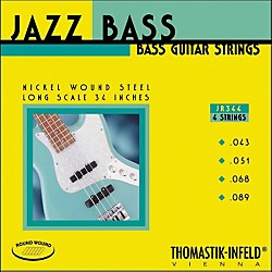 Thomastik JR344 Scale Roundwound 4-String Jazz Bass Strings (JR344)