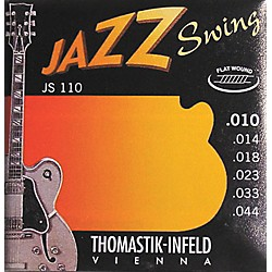 Thomastik JS110 Flatwound Extra Light Jazz Swing Guitar Strings (JS110)