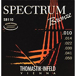 Thomastik SB110 Spectrum Extra-Light Bronze Acoustic Guitar Strings (SB110)