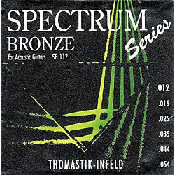 Thomastik SB112 Spectrum Bronze Acoustic Strings Medium-Light (SB112)