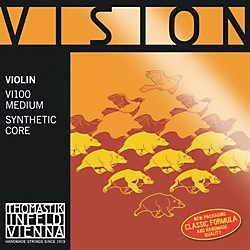 Thomastik Vision 4/4 Violin Strings Medium (VI100)