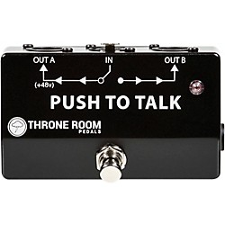 Throne Room Pedals Push To Talk Box Guitar Effects Pedal (TRP-PTTB)