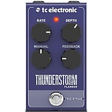 TC Electronic Thunderstorm Flanger Effect Pedal