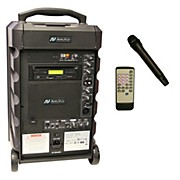 Amplivox Titan Wireless 100 Watt Portable PA System