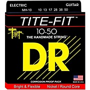 DR Strings Tite-Fit MH-10 Medium-Heavy Nickel Plated Electric Guitar Strings