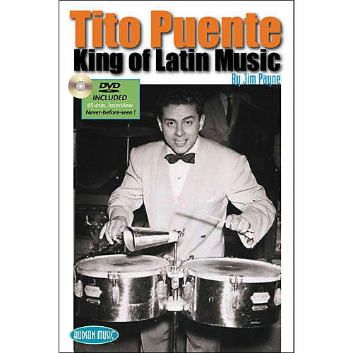 Hudson Music Tito Puente - King of Latin Music Book with DVD-thumbnail