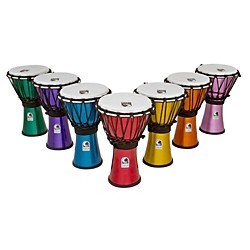 Toca Freestyle ColorSound Djembe Set of 7 (TFCDJ-7MS_127688)