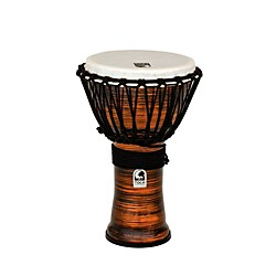 Toca Spun Copper Rope Tuned Djembe (TF2DJ-9SC)