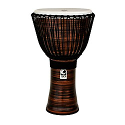 Toca Spun Copper Rope Tuned Djembe with Bag (TF2DJ-14SCB)