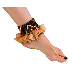 Toca Wooden Ankle/Wrist Rattle (T-WRA)