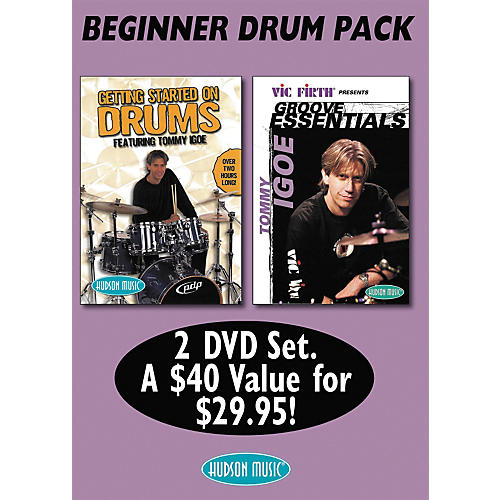 Hudson Music Tommy Igoe: Getting Started - Groove Essentials (DVD 2-Pack)-thumbnail