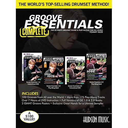 Hudson Music Tommy Igoe Groove Essentials Complete Book/DVD Set