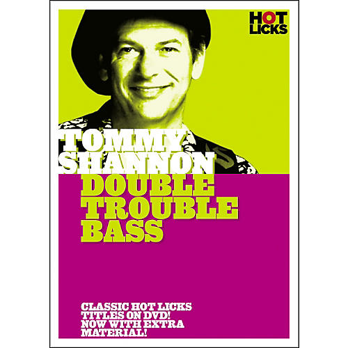 Hot Licks Tommy Shannon: Double Trouble Bass DVD-thumbnail