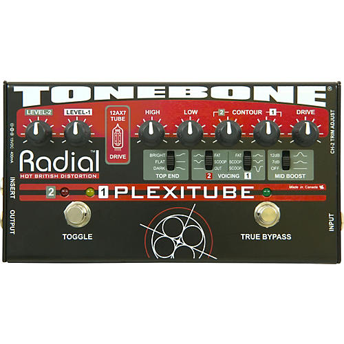 Radial Engineering Tonebone Plexitube Distortion Pedal-thumbnail