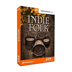 Toontrack Indie Folk EZX Software Download (TT254SN)