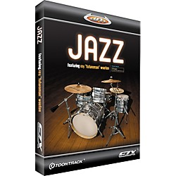 Toontrack Jazz EZX Expansion Pack for EZdrummer Sample Library (TT120)
