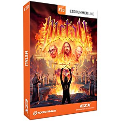 Toontrack Metal! EZX Software Download (TT267SN)