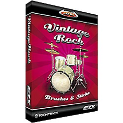 Toontrack Vintage Rock Brushes and Sticks EZX Sample Library (TT108)