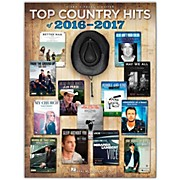 Hal Leonard Top Country Hits of 2016-2017 for Guitar Piano/Vocal/Guitar Songbook