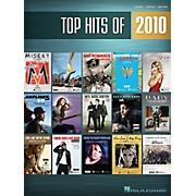Hal Leonard Top Hits Of 2010 PVG Songbook