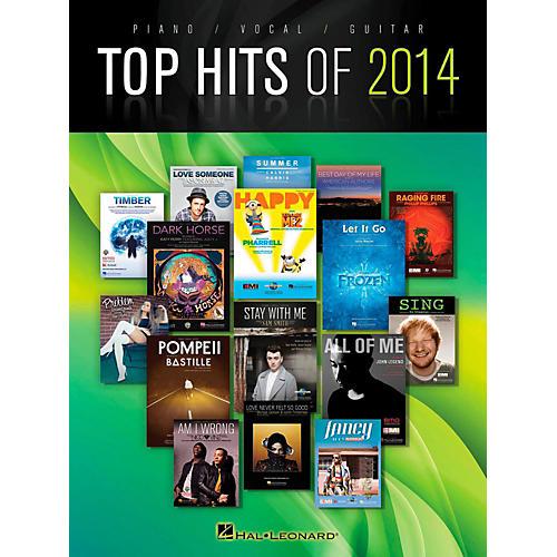 Hal Leonard Top Hits Of 2014 Piano/Vocal/Guitar-thumbnail