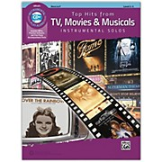 Alfred Top Hits from TV, Movies & Musicals Instrumental Solos Horn in F Book & CD, Level 2-3