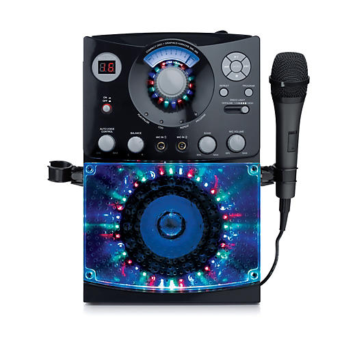 The Singing Machine Top Load Karaoke System with Disco Lights