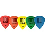Dunlop Tortex T3 Sharp Tip Guitar Picks 72-Pack