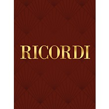 Ricordi Tosca (Vocal Score) Vocal Score Series Composed by Giacomo Puccini Edited by R Parker
