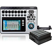 QSC TouchMix-8 Compact Digital Mixer with Rackmount Kit and Case