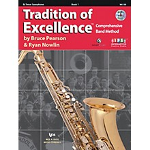 KJOS Tradition Of Excellence Book 1 for Tenor Sax