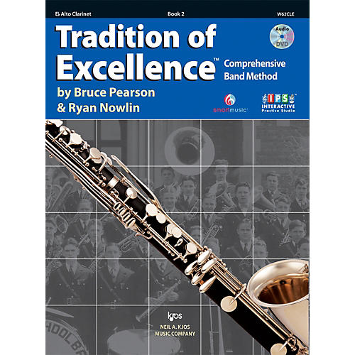KJOS Tradition Of Excellence Book 2 for Alto Clarinet