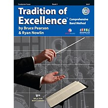 KJOS Tradition Of Excellence Book 2 for Conductor