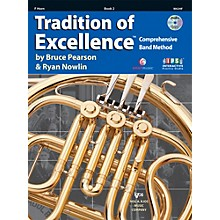 KJOS Tradition Of Excellence Book 2 for French Horn