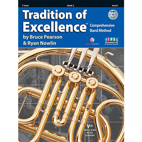 KJOS Tradition Of Excellence Book 2 for French Horn-thumbnail
