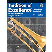 KJOS Tradition Of Excellence Book 2 for Trombone TC