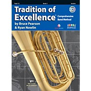 KJOS Tradition Of Excellence Book 2 for Tuba TC