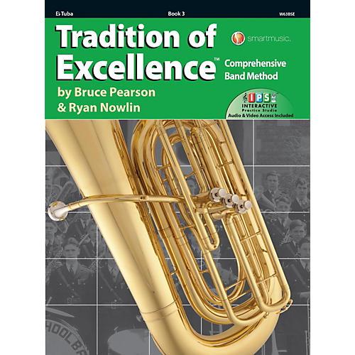 KJOS Tradition of Excellence Book 3 Eb Tuba-thumbnail