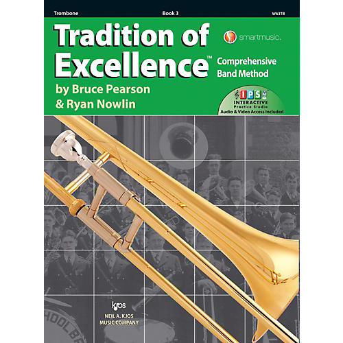 KJOS Tradition of Excellence Book 3 Trombone-thumbnail