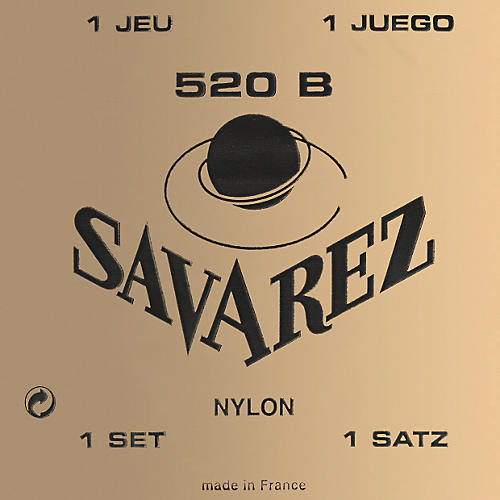 Savarez Traditional White Card 520B Light Tension Classical Guitar Strings-thumbnail