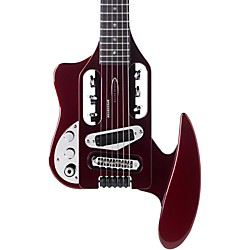 Traveler Guitar Left-Handed Speedster Travel Electric Guitar (Speed Red Lefty)