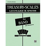 Alfred Treasury of Scales for Band and Orchestra C Flute (Piccolo)