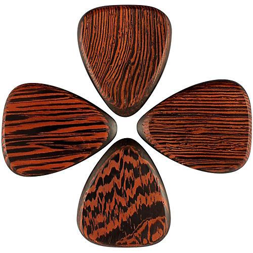 Timber Tones Tri Tones Wenge Single Plectrum Guitar Pick-thumbnail