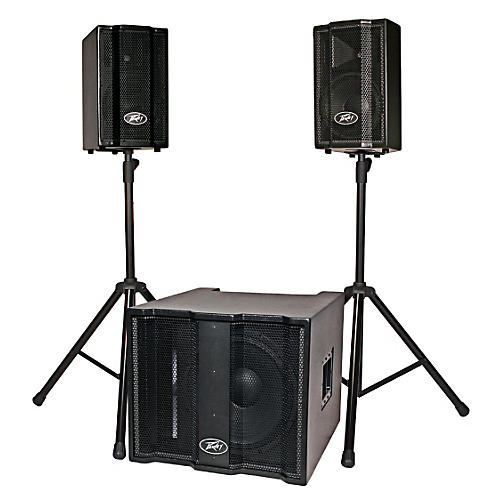 Peavey TriFlex II 1000W Three-Piece, Two-Channel Sound System-thumbnail