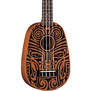 Luna Guitars Tribal Pineapple Ukulele